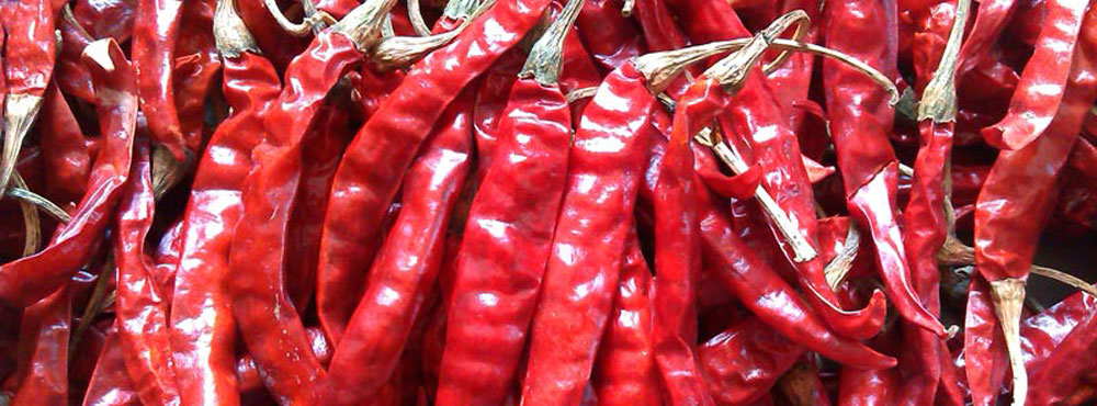 Dry Chilli (red & yellow)